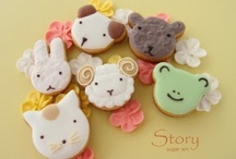 Icing cookies animal / アイシングクッキー動物