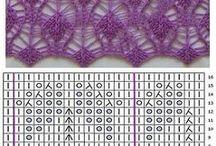 Схемы вязания спицы