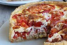 Tartes, tourtes et pizzas