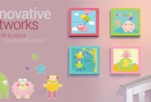 Collection A / Bee o Me's innovative and colorful wall arts