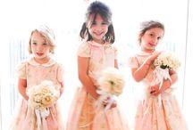 Ring bearers + flower girls