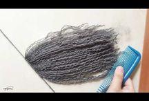 doll hair make