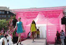 Village de la Mode Strasbourg Fashion Week 2016 / Du 24 au 28 Mai 2016 le village de la mode à ouvert ses portes sur le parvis de la Place Kleber de Strasbourg pour des défilés gratuits.   Maquillage/coiffure : École Pigier Création Strasbourg