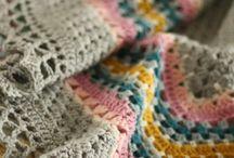 crochet, mantas, alfombras etc...
