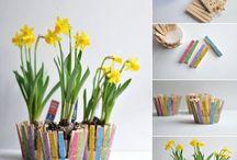 KIDS CRAFTS - Easter/Spring / Easter & Spring craft ideas for Kids