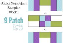Starry Night Quilt Sampler