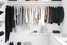 Walk in closets / Ideas for wic
