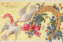 Vintage Postcards and Holiday Cards