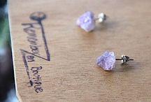 Chakra Jewelry Amethyst Jewelry Raw Crystals