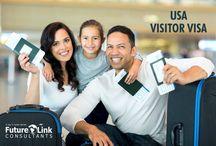 USA Visitor Visa / http://futurelinkconsultants.com/visitor-visa/usa/