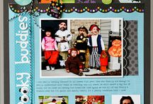 Halloween Scrapbook Layouts Ѽ