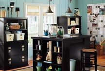 Craft room ideas / by Laura Bailey
