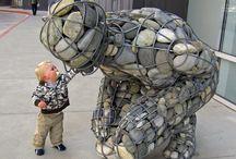 relleno escultura