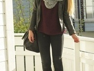 fall or winter style.