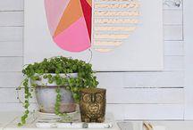 Wall decoration / Wandgestaltung