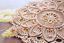 Crochet mats