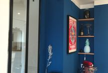 Blue kitchen / Our Blue kitchen in Paris