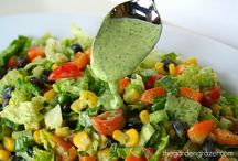 Vegan salades