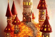 Droomvlucht kasteel