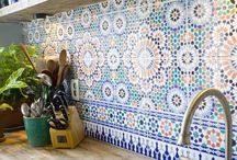 Beautiful ceramic tiles