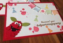 Anke specht / Geburtstagskarten basteln