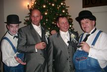 Weddings / Laurel and Hardy Lookalikes / Tribute Act with close-up magic - Meet, Greet, Mix & Mingle pose for Photos & Entertain with close-up magic - Tel: 07977 008 546 / graham-rob@sky.com / www.lookalikesmagic.com
