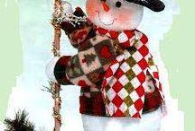 patrones adornos de navidad