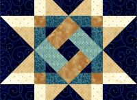 Oh My Stars! / Quilt Blocks and Quilts that have a star pattern in them.
