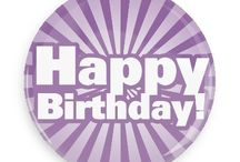 Birthday Buttons / Funny Buttons - Custom Buttons - Promotional Badges - Birthday Pins - Wacky Buttons