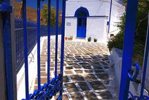 Blue and white - a good matching / Mediterranean touch (but not only ...)