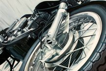 Motorcycle Art / For the family room