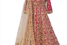 Bridal Lahenga / Beautiful Bridal Red Silk Embroidered Lahenga, bridal lahenga online deal, bridal lahenga collection for women