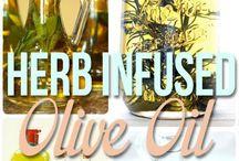 Infused oil/vinegar