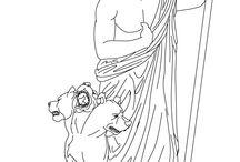 Infierno Griego / El inframundo griego es un término general que se emplea para describir a los distintos reinos de la mitología griega que se creía estaban situados debajo de la tierra o más allá del horizonte. Entre estos reinos se incluyen los Campos Elíseos, las Islas de los Bienaventurados o Islas Elíseas, la morada de los muertos (que suele recibir el nombre de Hades) y el Tártaro.  Iván Hurtado Domínguez  Las imagenes describen con detalle el infierno griego y sus caracteristeicas