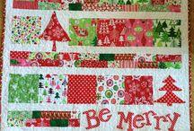 kerstmis quilt