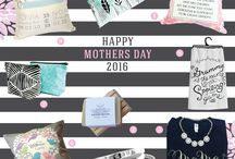 Mother's Day Gift Ideas / Mother's Day Gift Ideas.  Great ideas for mom and grandma from handmade shops made in Canada. Everything from personalized pillows for mom and grandma to unique hand stamped jewelry. ❤️