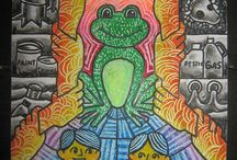 Winners 2012 Frogs Are Green Kids' Art Contest / Announcing the winners of the 2012 Frogs Are Green Kids' Art Contest. The winners came from Bangladesh, Latvia, Indonesia, Dubai, Philippines, Bulgaria, and USA.