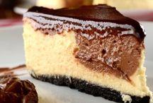 Tortas doces e cheesecakes