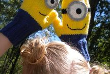Named knit or crochet / Minions, Super Heroes things the young or young at heart recognize by name.