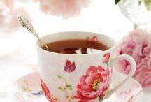 Tea - pots, cups, recipes, etc.