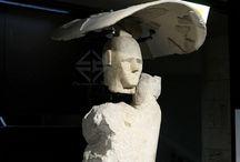 I giganti di mont'e Prama / Qualche foto scattata durante le giornate FAI di primavera alla scoperta dei Giganti di mont'e Prama al Museo Archeologico di Cagliari