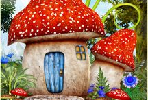 Toadstool Town World
