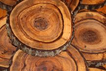 wood is beautiful / Wood has personality!