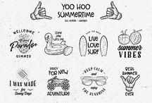vintage logo yoo hoo summer time