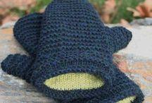 Strikk - votter / knitting