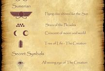 Ancient secret symbols