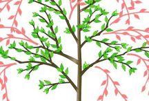 Baum schneintenGarten
