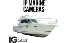 IP MARINE CAMERAS / If you want the ultimate in ICRealtime video security surveillance for your boat then you want the new IP MARINE CAMERA line we have created made from anodized aluminum cases.