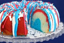 Red, White, & Blue Recipes / Some of the best patriotic, colorful recipes!