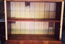 Shabby Chic Bookshelves